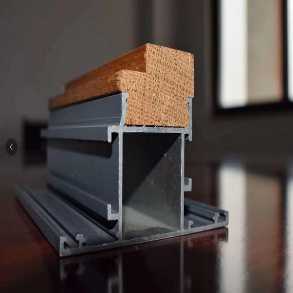 Aluminum Wood Combined Door Frame